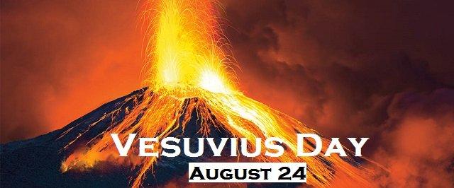 Happy Vesuvius Day – August 24, 2021