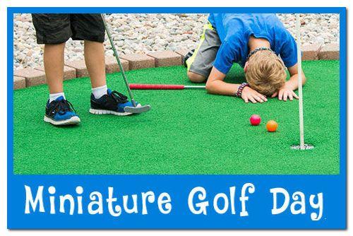 National Miniature Golf Day – September 21, 2021