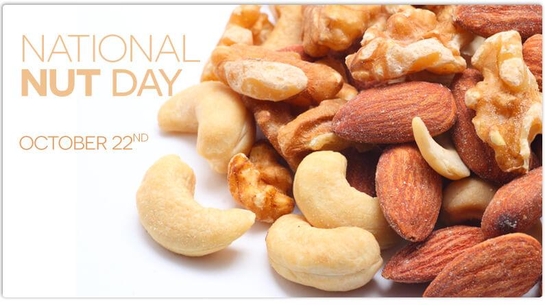 National Nut Day – October 22, 2021