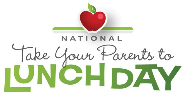 National Take Your Parents To Lunch Day – October 13, 2021