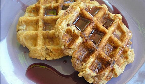 National Oatmeal Nuts Waffles Day
