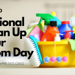 National Clean Up Your Room Day