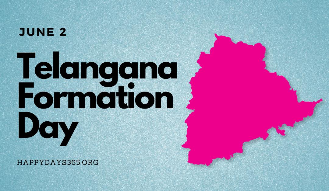 #TelanganaFormationDay