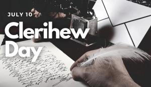 Clerihew Day